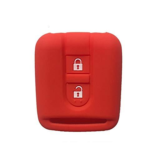 MDHANBK Funda para Llave de Coche, para Nissan Micra K12 Qashqai Navara Almera, Carcasa para Llave de Coche, Accesorios para Llave de Coche