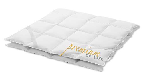 Premium de luxe 975.97.003 Mattress Topper, 160 x 200 cm, 7 x 8 Karos, 1.750 gr.