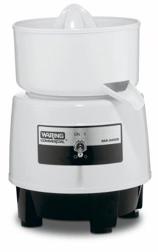 Waring Commercial BJ120C Citrus Bar Juicer with Compact Design, 1-Quart