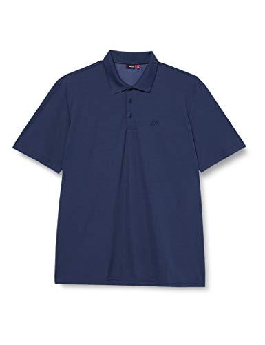 Maier Sports Herren Polo 1/2 Arm T-shirt, aviator, Gr. M