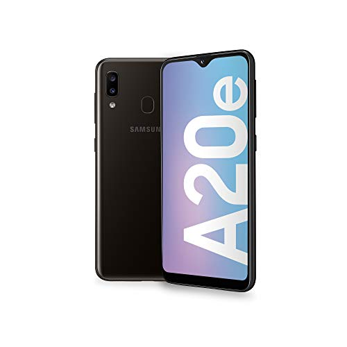 Samsung Galaxy A20e Display 5.8', 32 GB Espandibili, RAM 3 GB, Batteria 3000 mAh, 4G, Dual SIM Smartphone, Android 9 Pie, (2019) [Versione Italiana], Black