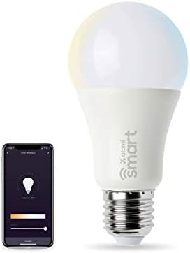 Atomi Smart WiFi White LED Bulb with Dimmable and Tunable White Light 2700K 6000K E26 A19 No product image