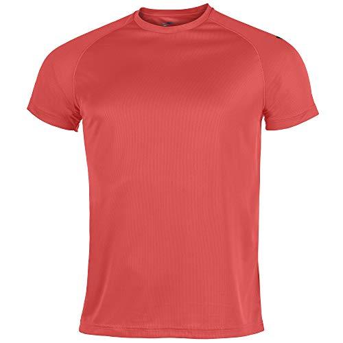 Joma Eventos Camisetas Equip. M/c, Hombre, Coral Fluor