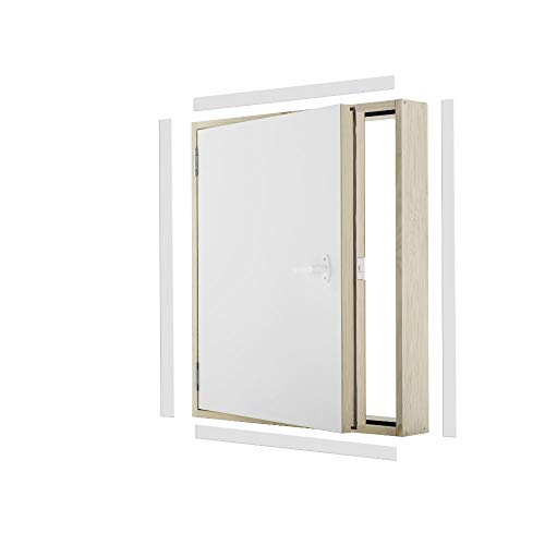 Kniestocktür Drempeltür POLAR Ud=0,36 W/m2*K Oman 80x60 Holz Abseitentür energiesparrend