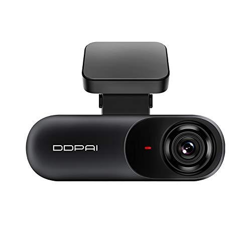 ddpai N3 Cámara de coche Dash Cam, 1600P 2K de alta definición, gran angular de 140 grados   WDR   monitor de estacionamiento   grabación en bucle   detección de movimiento