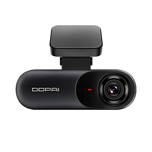 DDPAI Dash Camera Registratore di guida per auto Full HD Smart Car DVR WiFi Dash Cam wireless da 140 gradi GPS Modulo incluso(N3)