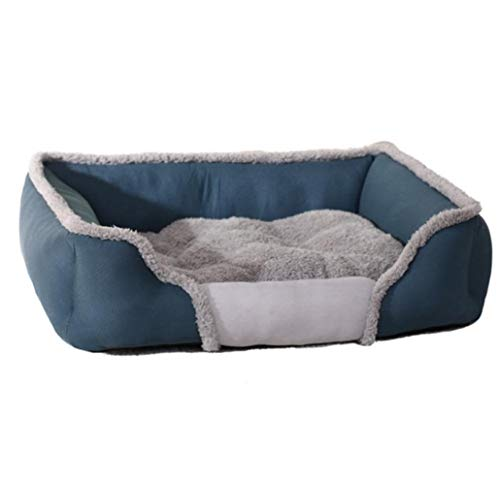 YMYGCC Pet Bed Kennel warm big size pet dog mattress sofa cat bed 54 (Color : 1, Size : L)