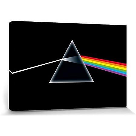 Pink Floyd Gerahmter Leinwand Kunstdruck Rock Musik Band London
