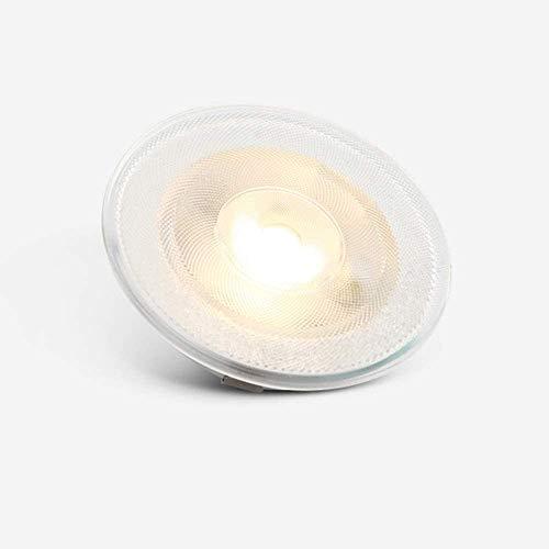 LOKKRG Foco LED ultradelgado para gabinete de Vino, 3 W Empotrado, 3000 K-6000 K 55 mm Focos de Orificio Cortado, Luces de Pared de Lavado de gabinete, para Vitrina