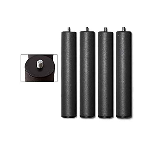 CHANCE FURNITURE Cambia Tus Muebles - Pack 4 Patas Somier (5X25 cm)