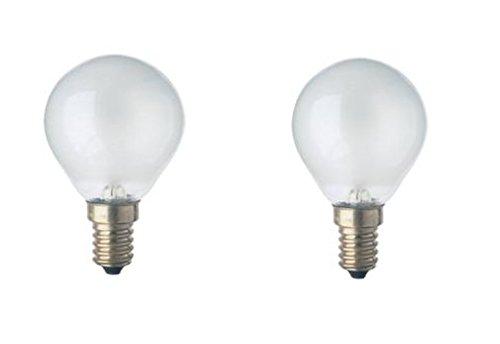 TOP 2x Osram Backofenlampe 40W 230V E14 Glühbirne Glühlampe Backofen Leuchte