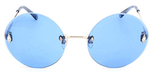Swarovski SK0159-16V-58 Gafas de sol, Plateado (Silber), 58 para Mujer