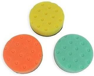Detail King Lake Country CCS Buffing/Polishing 4 Inch Spot Buff Foam Pad Set (3 Pads)