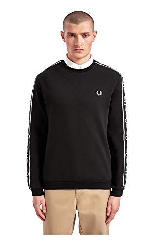 Fred Perry Taped Shoulder Pullover Herren