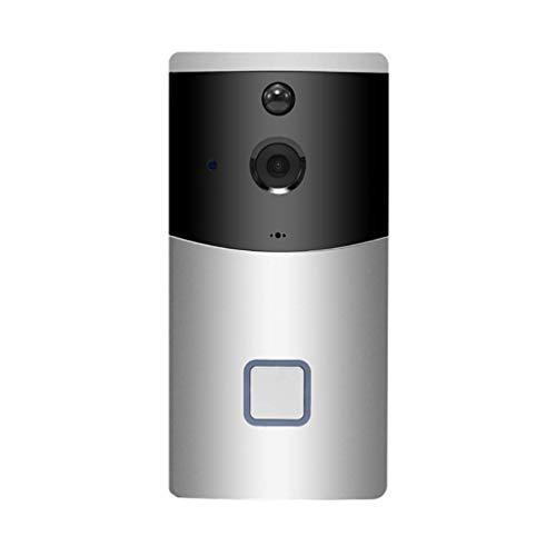 BJYG Timbre inalámbrico, cámara de Timbre WiFi Inteligente, con...