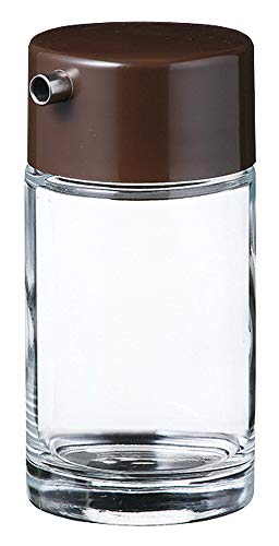 No.1584 ソース 大 [ Φ65 x H124mm 180ml ] 【 カスター&ディスペンサー 】| 保存容器 卓上小物 調味料 キッチン 自宅用 業務用