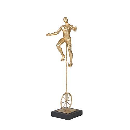 Einrad aus Kunstharz, 50,8 cm, goldfarben
