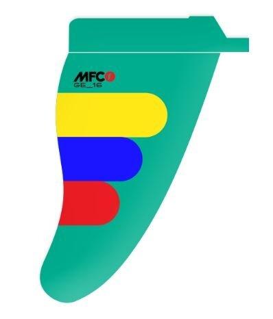MauiFinCompany* GE Edition - Gollito Estredo Freestyle G10 - MFC Finne, Größe:22cm, Boxsystem:US-Box