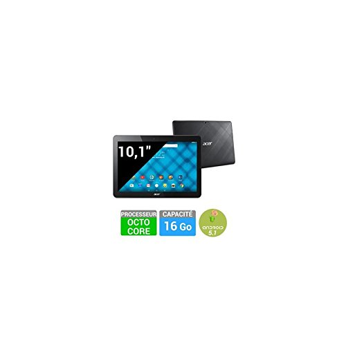Acer Iconia One 10 16GB 4G Negro - Tablet (Tableta de tamaño completo, IEEE 802.11n, Android, Pizarra, Android, Negro)