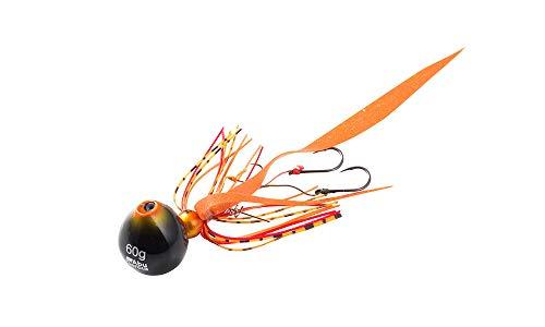 アブガルシア(Abu Garcia) タイラバ カチカチ玉 80g+10g SSKKD80+10-SHOR シュリンプオレンジ.
