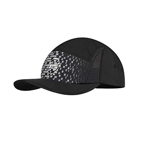 Buff Run Cap Gorra, Unisex-Adult, Dark Grey, One Size