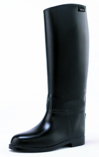 Toggi Gymkhana Long Riding Boots In Black, Size: 6.5 (EU 40) by William Hunter Equestrian
