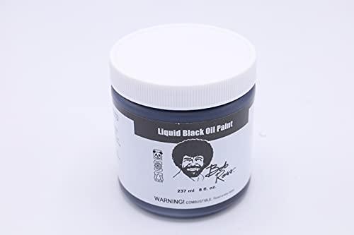 Bob Ross Liquid Black 250ml-Black