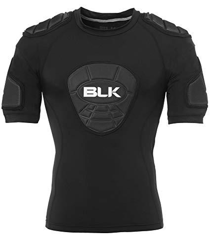 【BLK】T6 ショルダーパッド ショルダーガード ラグビー 肩パッド プロテクター