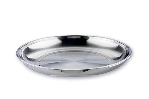 Lacor 14050- Vassoio per frutti di mare inox-garinox-50 cm