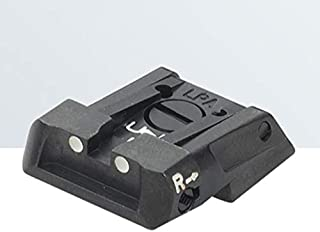 LPA SIGHTS Rear Sight for Tanfoglio Force, Compact EAA Witness, Jericho New Model - MPS2TA30