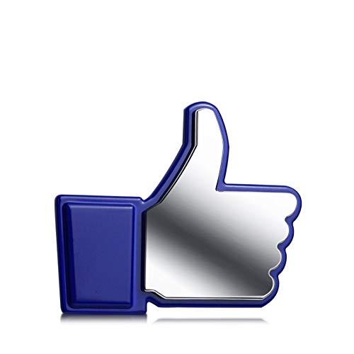 Appiu Car Stickers Facebook Gesten Auto Aufkleber personifizierte Autoaufkleber 3D-Stereo-Metall modifizierten Text kreativ dekorative Aufkleber angebracht Anhänger