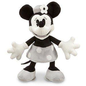 Noir et Blanc Minnie Mouse Doux Peluche - 7 '' H | Peluche | Disney Store