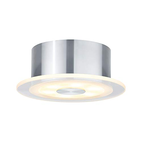 Paulmann 926.84 Premium ABL Set Whirl rund LED 1x6W 9VA 150mm Alu gedreht/Satin 92684 Spot Aufbaustrahler Aufbauleuchte