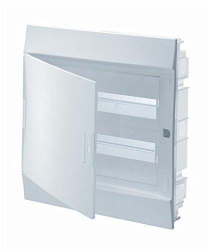 Abb-entrelec mistral41f - Caja empotrar mistral41 filas 650 24 módulos 2 filas puerta opaco