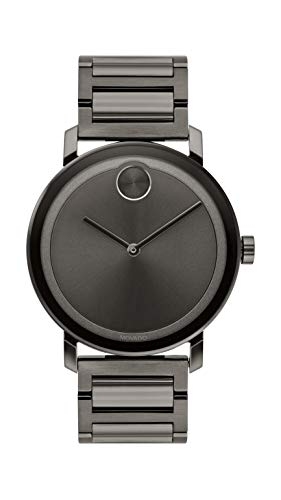 Evolution Gunmetal Watch (Model: ) - Movado 3600509