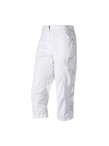 Joy Sportswear Flora 3/2007 4-broek voor dames, zeer comfortabele sportbroek in driekwart snit, de korte poten garanderen optimale bewegingsvrijheid W36, lengte normale grootte, wit