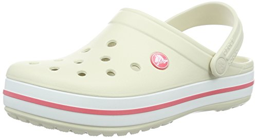 crocs Unisex-Erwachsene Crocband U' Clogs, Beige (Stucco-Melon 1As), 42/43 EU