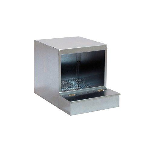 Nido per quaglie ovaiole - gabbia per quaglie in metallo - 45 x 33 x 33 cm