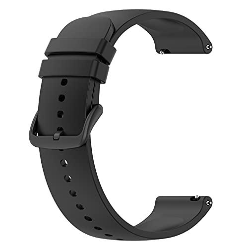 LOKEKE Correa de repuesto para Samsung Galaxy Watch 4 Classic - 20 mm de repuesto de silicona para Samsung Galaxy Watch 4 Classic 42 mm/Galaxy Watch 4 40 mm, Cuarzo creado,