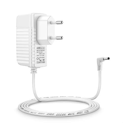 Aukru 5.9V Cable Cargador Fuente de Alimentación para Motorola MBP33 Vigilabebés Baby Video Monitor de bebés Unidad - Blanco