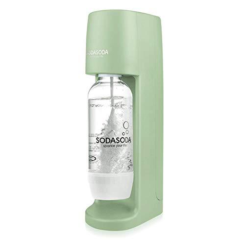 HEHUANG Commercial Multi-function Soda Machine Carbonated Beverage Machine Machine à eau gazeuse maison Machine à bulles, vert vintage