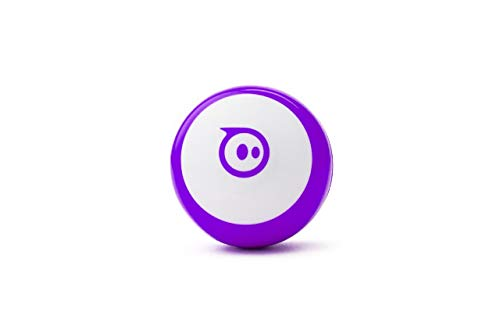 Sphero M001PURW Mini Purple: App-Controlled Robotic Ball, STEM Learning and Coding Toy, Ages 8 , color/modelo surtido