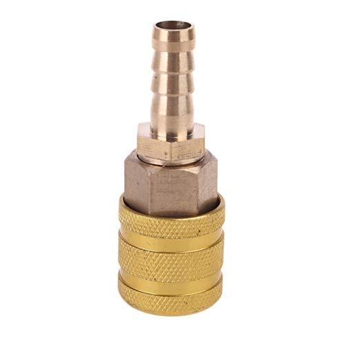 enenjie ENE Hardware acoplador rápido de latón Dotaciones Aire Conectar (Color : Gold)