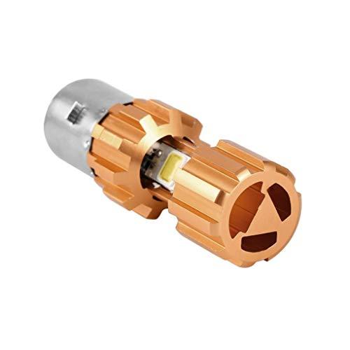 Waterdichte motor DC12V H6 3COB LED-koplamp voor motorlamp Driezijdige verlichting BA20D
