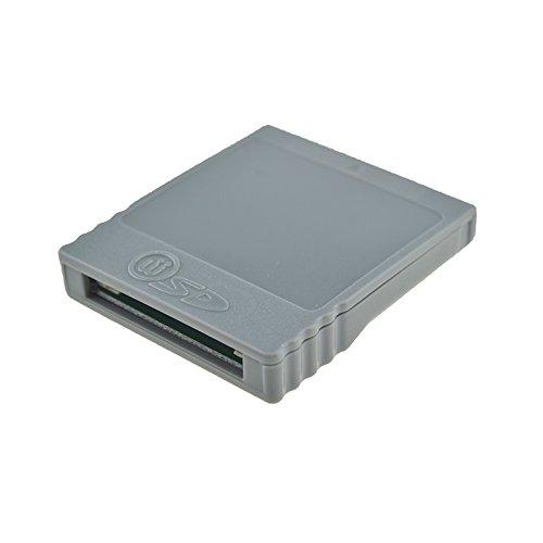 SD Flash WISD Speicherkartenadapter Stick Konverter Reader für Nintendo Wii GC Gamecube NGC Konsole