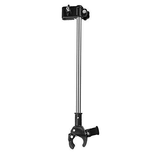 Adjustable Umbrella Mount Holder No Need Any Tooling to Attach Umbrella Clamp, Umbrella Connector Holder to Wheelchairs, Walker, Rollator, Bike, Pram, Stroller