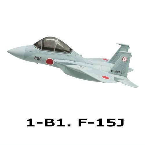 チビスケ戦闘機 F-15&F-4 [2.1-B1. F-15J](単品)