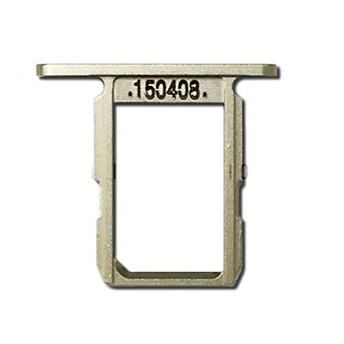 ePartSolution_Lot of 3 Sim Tray Sim Card Tray Slot Holder Metal for Samsung Galaxy S6 Edge SM-G925 | Galaxy S6 SM-G920 Replacement Part USA (S6 Gold)