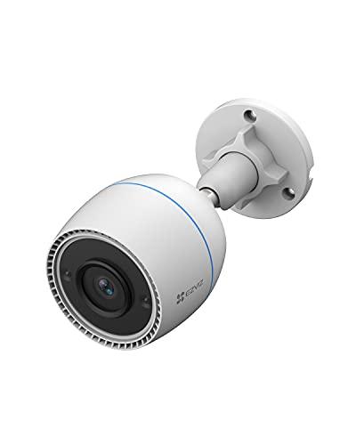 EZVIZ C3TN Cámara de Vigilancia WiFi Exterior 1080P Bala Cámara de Seguridad H.265, IP67 con Visión Nocturna de 30m, Detección de Movimiento, Compatible con Alexa y Google