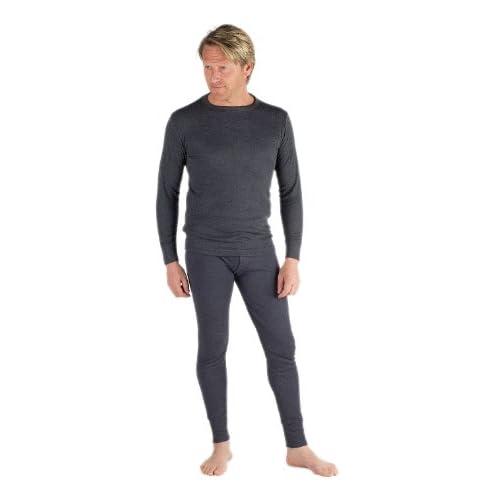 Socks Uwear Classic Mens Thermal Underwear Set Long Sleeve Top & Long John